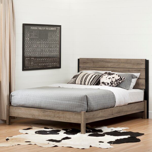 Munich Full Platform Bed by South Shore