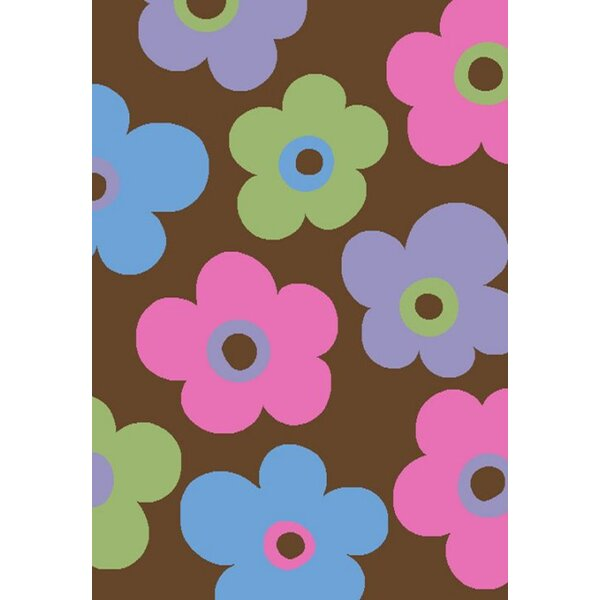 Alisa Ditsy Flowers Kids Rug by Threadbind