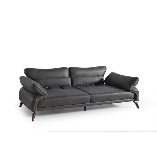 Giordano 100'' Flared Arm Sofa by Williston Forge Williston Forge