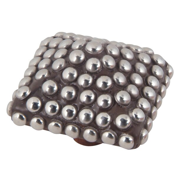 Beaded Square Novelty Knob by Atlas Homewares