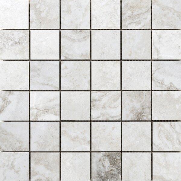 Gateway 2 x 2 Porcelain Mosaic Tile in Avorio by Emser Tile