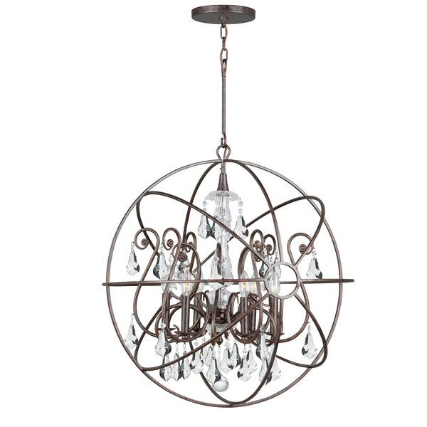 Jitu 6-Light Candle Style Globe Chandelier By Willa Arlo Interiors