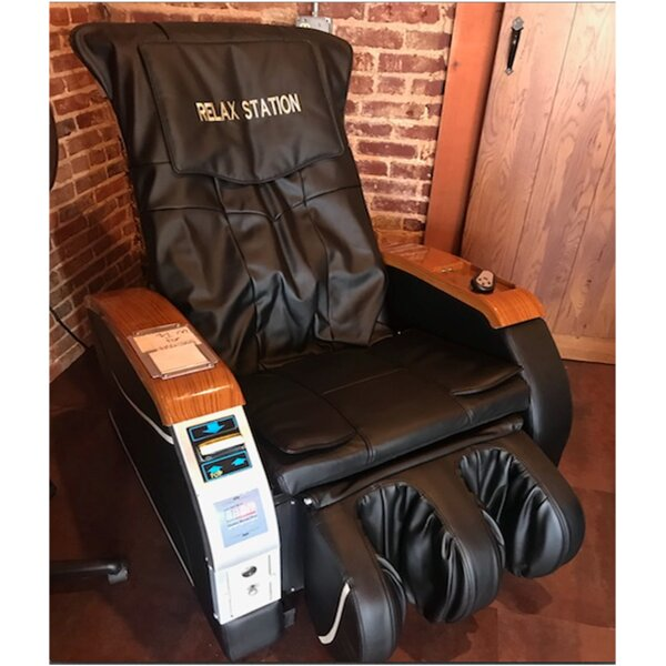 Deluxe Reclining Heated Full Body Massage Chair By TMI Gifts