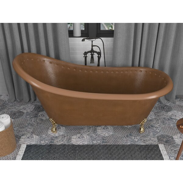 Java 66 x 31 Clawfoot Soaking Bathtub by ANZZI