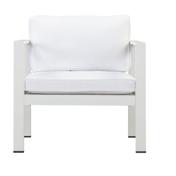 Karen Deep Seating Chair with Cushions by Rosecliff Heights