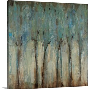 'Whispering Winds' Painting Print on Canvas by Andover Mills