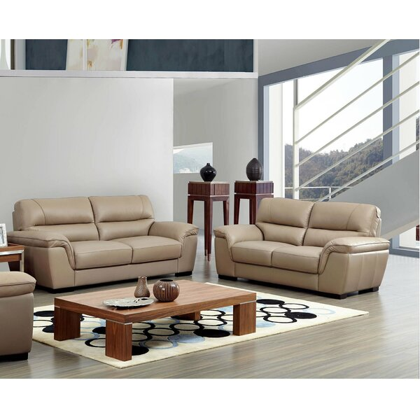 #1 Alivia Sleeper Configurable Living Room Set By Latitude Run Modern