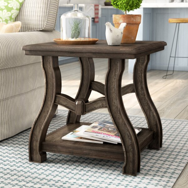Peggy End Table by Gracie Oaks