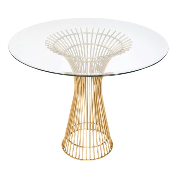 Iron Dining Table by Worlds Away