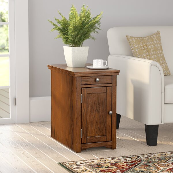 Lyman Chairside Table by Three Posts