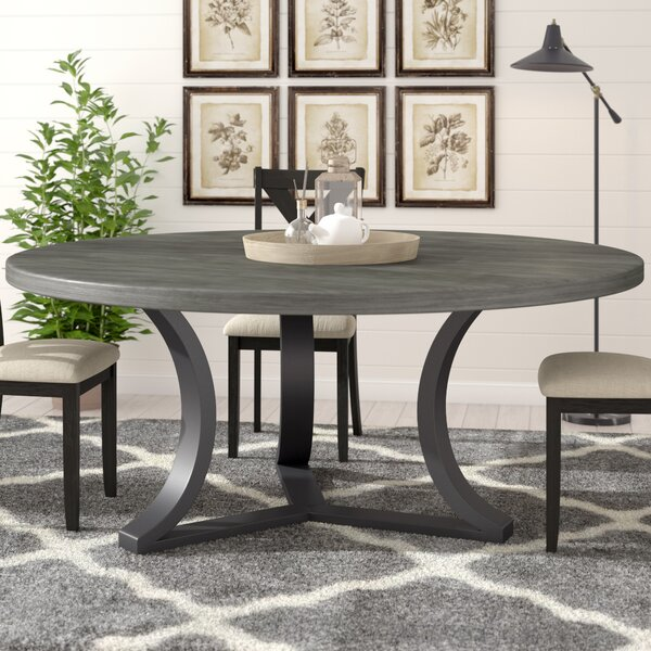 Louisa Rounded Dining Table by Gracie Oaks