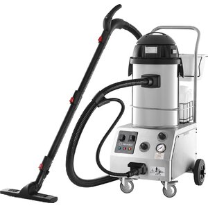 Tandem Pro Commercial Steam & Vacuum Cleaner with Auto Refill & Accessory Kit