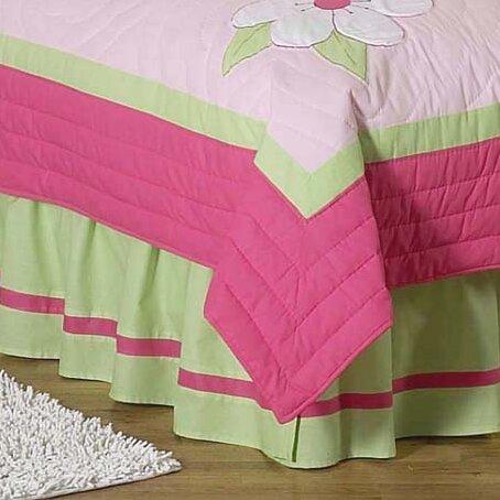 Flower Queen Bed Skirt by Sweet Jojo Designs