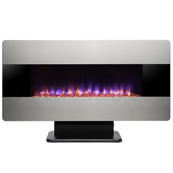 Wall Mounted/Freestanding Electric Fireplace by AK