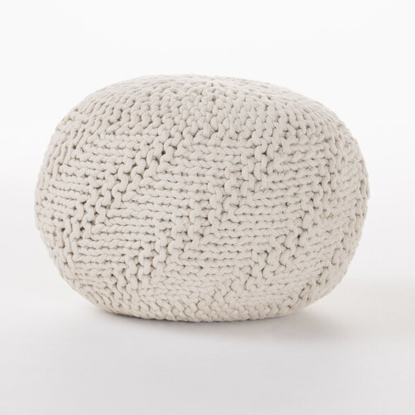 Manorhaven Pouf Ottoman by Mercury Row