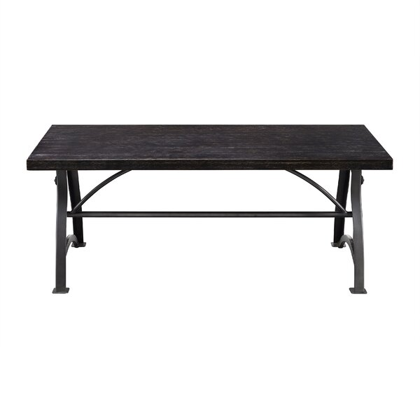 Delanie Wood and Metal Coffee Table by Williston Forge Williston Forge