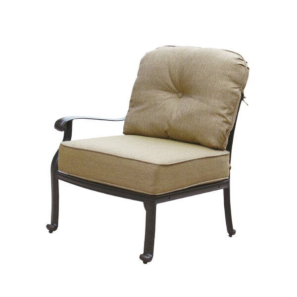 Lebanon Deep Seating Left-Facing Arm Sectional Piece Frame by Three Posts
