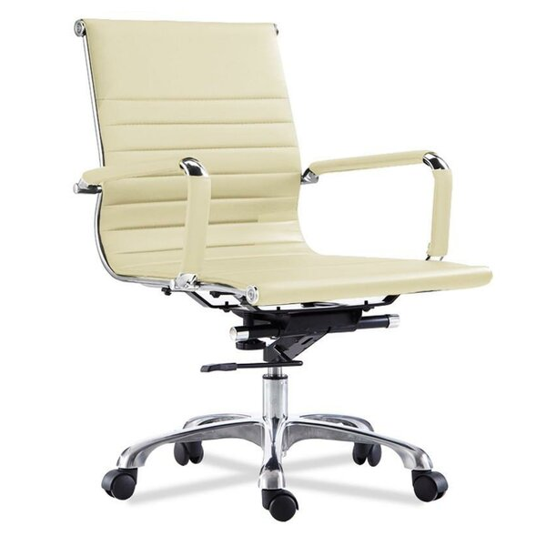 Gelinas Mid Back Ergonomic Office Chair by Wrought Studio