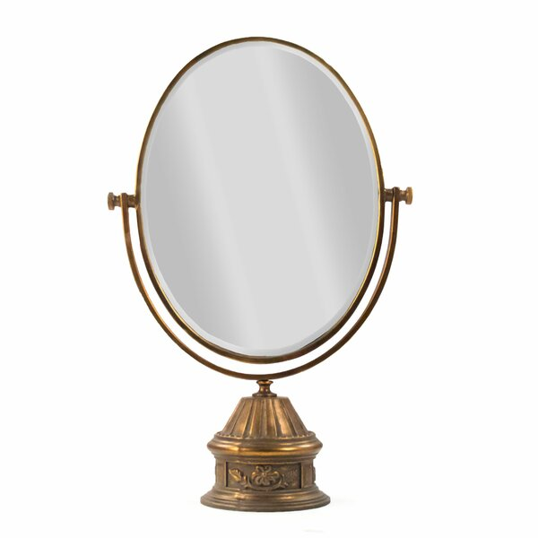 Stuck Makeup/Shaving Mirror by Astoria Grand