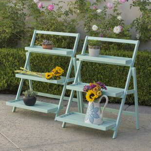 Goreville Outdoor Multi-Tiered Plant Stand (Set of 2) By Charlton Home