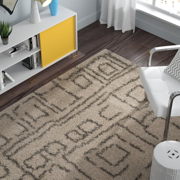 Starr Hill Taupe/Gray Area Rug by Zipcode Design