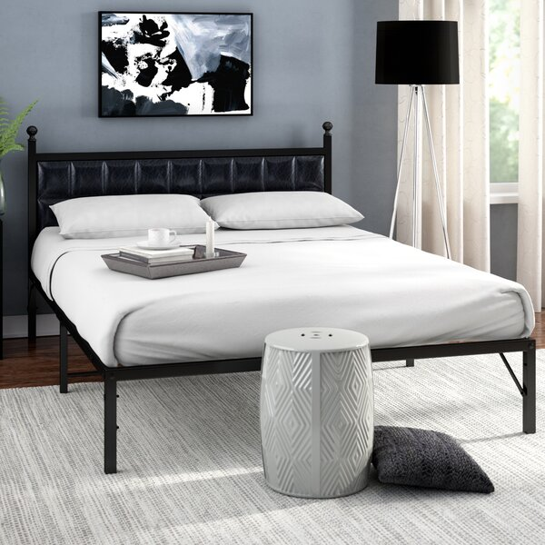 Darlane Steel Platform Bed Frame by Orren Ellis