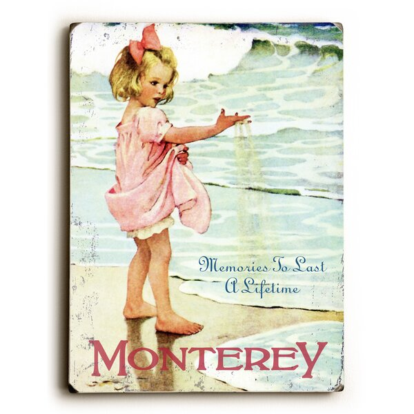 Memories to Last a Lifetime Beach Vintage Advertisement by Artehouse LLC