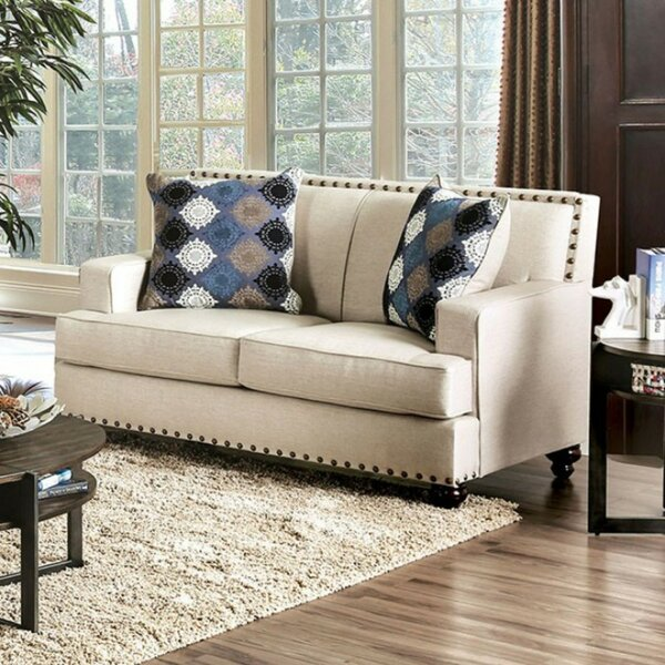 Baham Premium Loveseat by Canora Grey