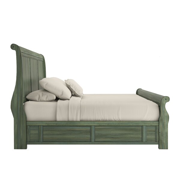 Chehalis Storage Sleigh Bed by Darby Home Co