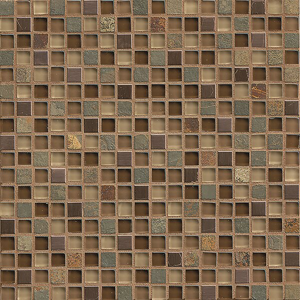 Queenstown 12 x 12 Mosaic Tile in Hawke by Grayson Martin