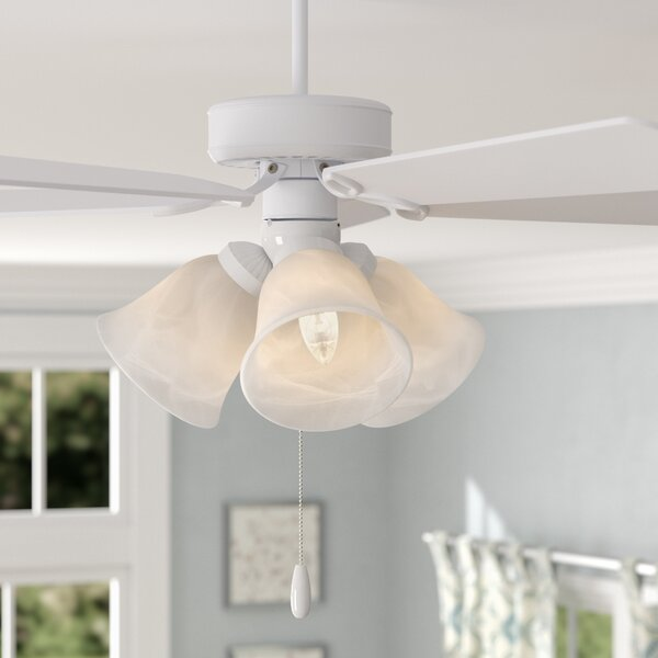 3-Light Branched Ceiling Fan Light Kit by Red Barrel Studio
