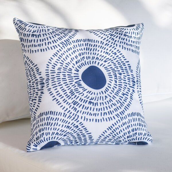 Keeley Circles Ii Outdoor Throw Pillow by Mistana