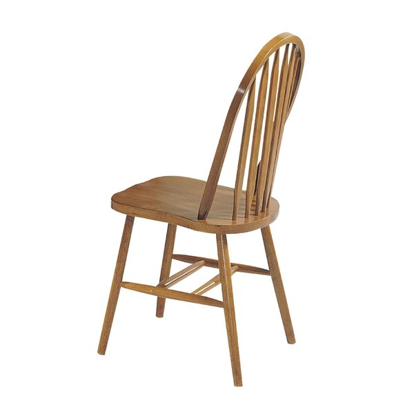 Rayna Solid Wood Dining Chair (Set of 4) by Longshore Tides
