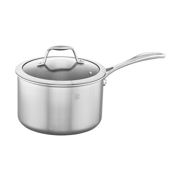 Spirit 3-Ply Stainless Steel Sauce Pan with Lid by Zwilling JA Henckels