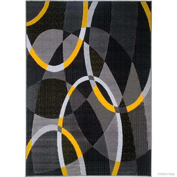 Gray Area Rug by AllStar Rugs