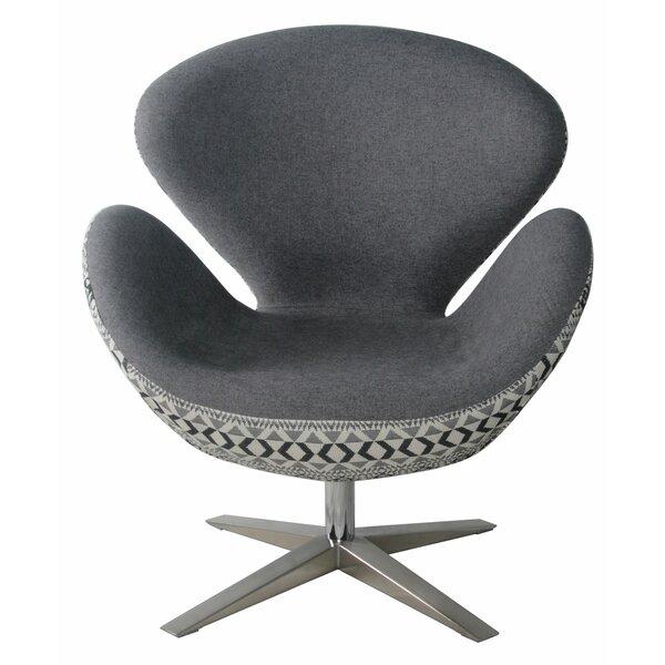Leddy Swivel Lounge Chair by Brayden Studio Brayden Studio