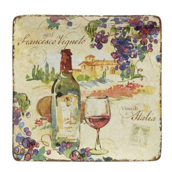 Carmel Square Platter by Fleur De Lis Living