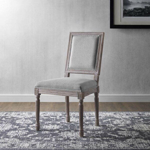 Vasbinder Vintage French Upholstered Dining Chair by Ophelia & Co.