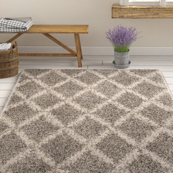 Quito Gray/Ivory Area Rug by Gracie Oaks