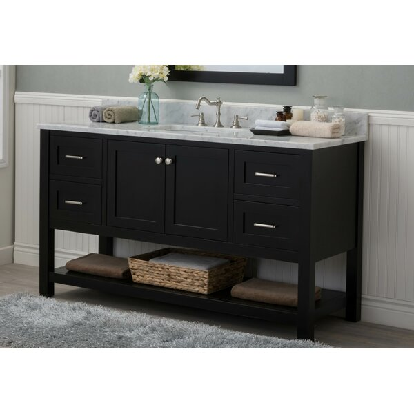 Magdalena Shoreline 60 Single Bathroom Vanity Set by Longshore Tides