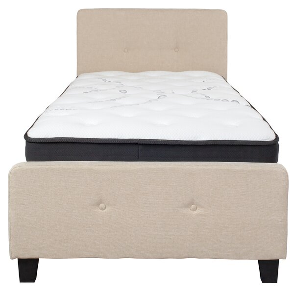 Pitre Tufted Upholstered Platform Bed With Mattress By Ebern Designs by Ebern Designs Best Design