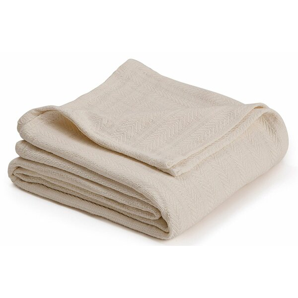 Elizabeth Super Soft Cotton Blanket by Alwyn Home