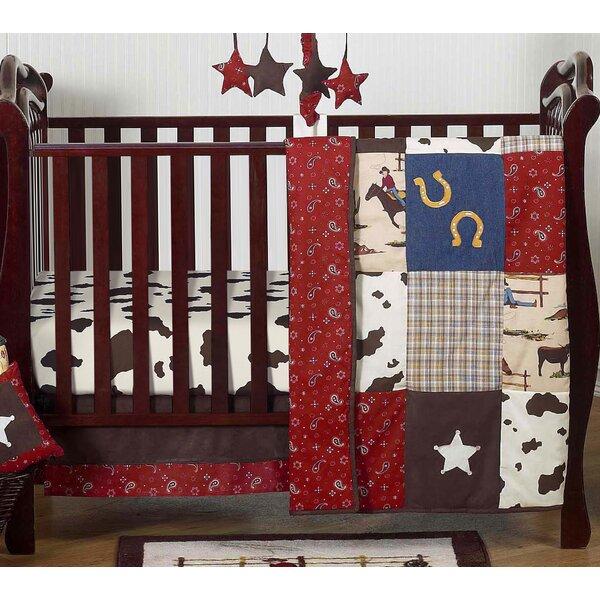 Wild West 4 Piece Crib Bedding Set by Sweet Jojo Designs