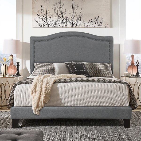 Upholstered Standard Bed by Winston Porter