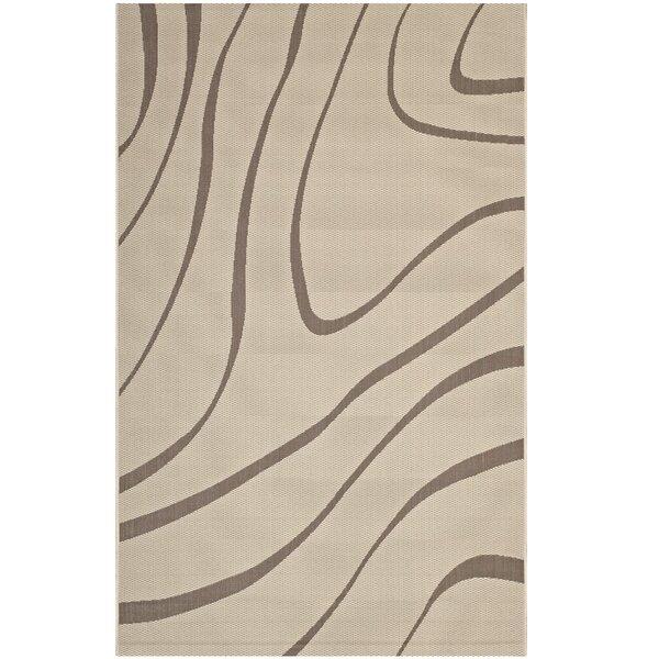Filson Abstract Beige Indoor/Outdoor Area Rug