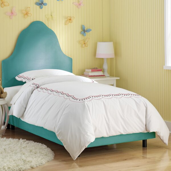 High Arc Panel Bed by Skyline Furniture