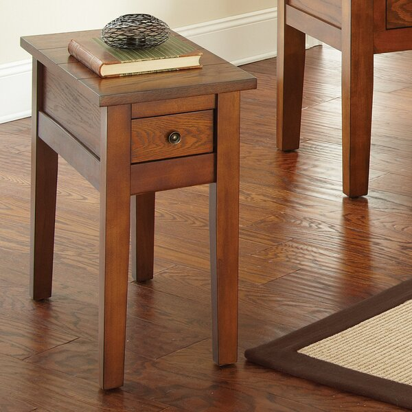 Dan End Table With Storage By Red Barrel Studio