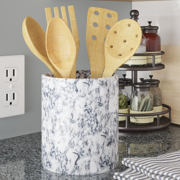 Marble Utensil Crock by Langley Street