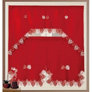 Elettra Royal Kitchen Curtain Set