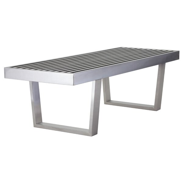 Zoey Metal Bench By Nuevo